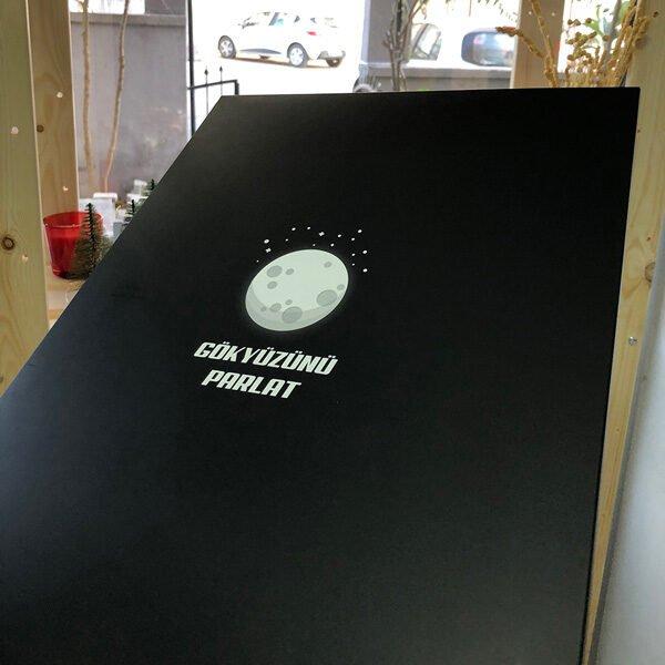 Gökyüzünü Parlat - Gökyüzü haritası hediye paketi
